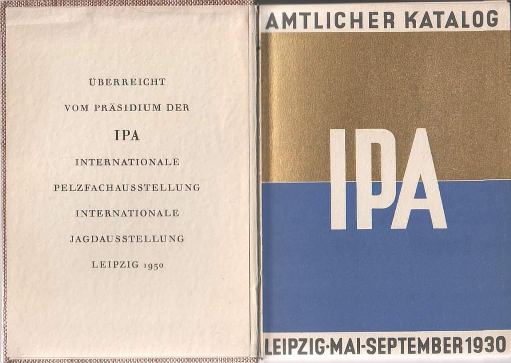 ipa_-_internationale_pelzfach-ausstellung_internationale_jagd-ausstellung_leipzig_1930_2_buch-vorsatzblatt GOLDFINGERS - IMAGES